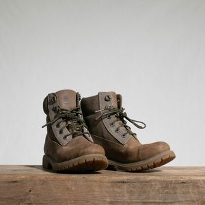 Brown 6-Inch Premium Waterproof Leather Boots